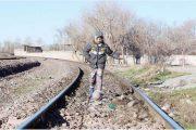 بازی در مسیر قطار سریعالسیر